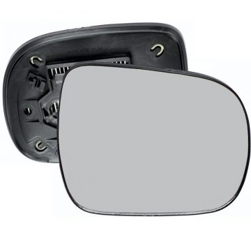 Right side wing door mirror glass for Lexus RX, Toyota Hilux