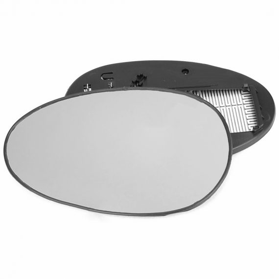 Left side wing door mirror glass for MG ZR