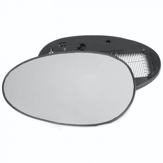 Left side wing door mirror glass for Rover 25