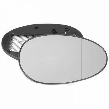 Right side wing door blind spot mirror glass for MG ZR
