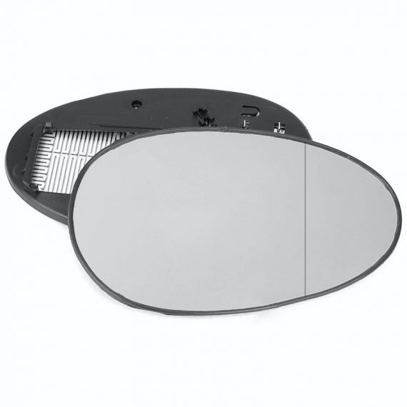 Right side wing door blind spot mirror glass for Rover 25