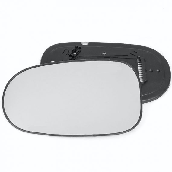 Left side wing door mirror glass for Nissan Almera