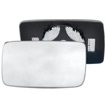 Left side wing door mirror glass for Volkswagen Golf