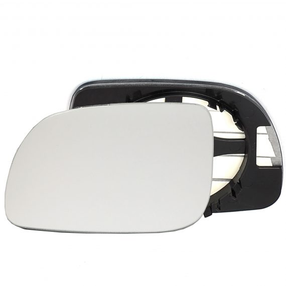 Left side wing door mirror glass for Seat Ibiza
