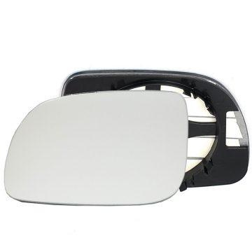 Left side wing door mirror glass for Seat Arosa, Volkswagen Lupo, Volkswagen Polo