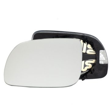 Left side wing door mirror glass for Seat Cordoba