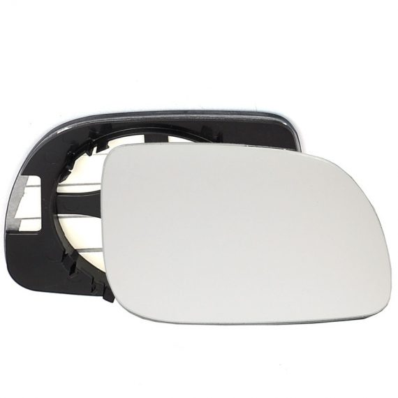 Right side wing door mirror glass for Seat Arosa