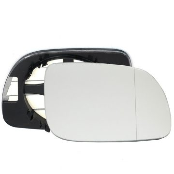 Right side wing door blind spot mirror glass for Volkswagen Lupo