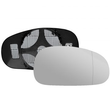 Right side wing door blind spot mirror glass for Audi TT, Seat Leon