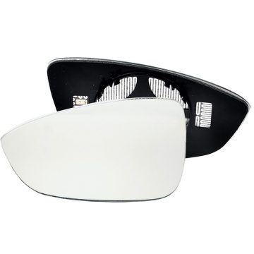 Left side wing door mirror glass for Volkswagen Beetle, Volkswagen Eos, Volkswagen Jetta, Volkswagen Passat, Volkswagen Scirocco