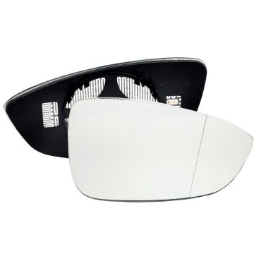 Right side wing door blind spot mirror glass for Volkswagen Beetle, Volkswagen Eos, Volkswagen Jetta, Volkswagen Passat, Volkswagen Scirocco