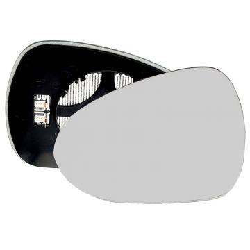 Left side wing door mirror glass for Seat Exeo, Seat Ibiza, Seat Leon