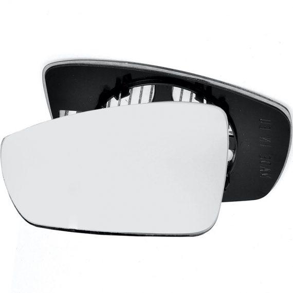 Left side wing door mirror glass for Volkswagen Polo