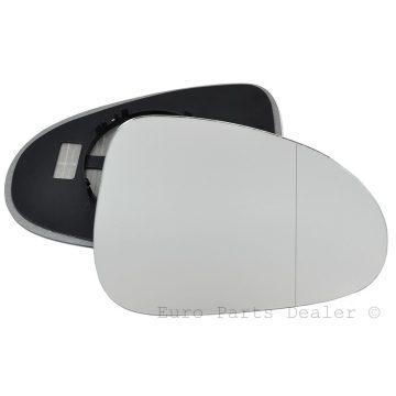 Right side wing door blind spot mirror glass for Volkswagen Touareg