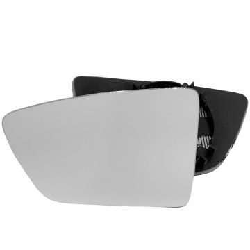 Left side wing door mirror glass for Seat Arona, Seat Ibiza