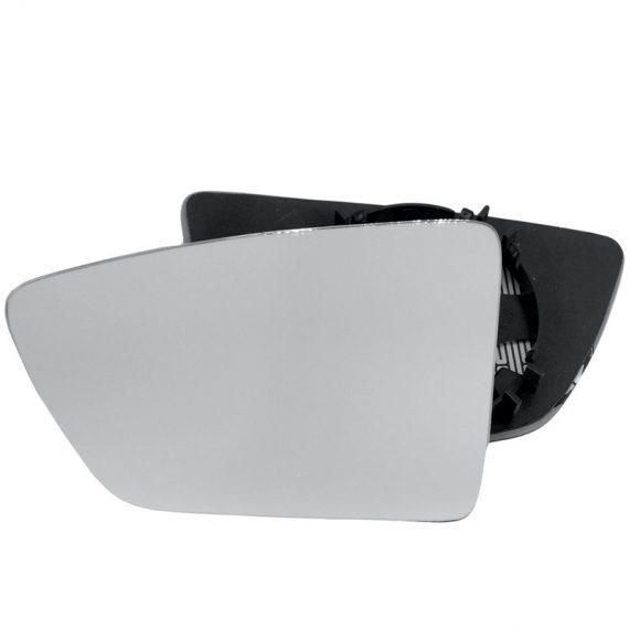 Left side wing door mirror glass for Seat Leon