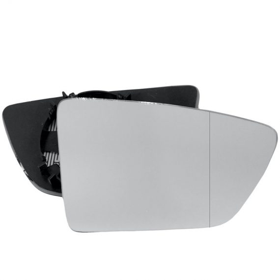 Right side wing door blind spot mirror glass for Seat Leon