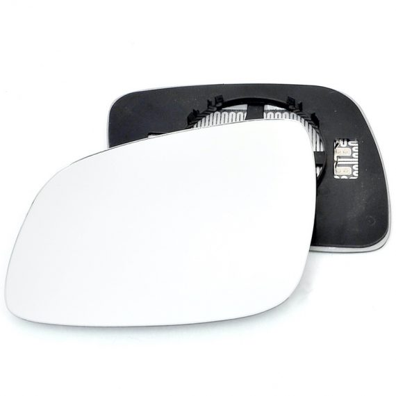 Left side wing door mirror glass for Chevrolet Spark