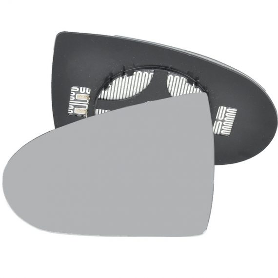 Left side wing door mirror glass for Mitsubishi Colt
