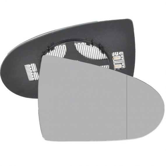 Right side wing door blind spot mirror glass for Mitsubishi Colt
