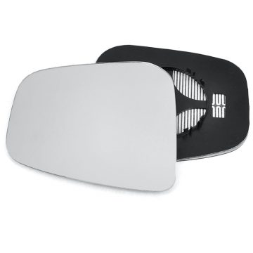 Left side wing door mirror glass for Mitsubishi Shogun Pinin