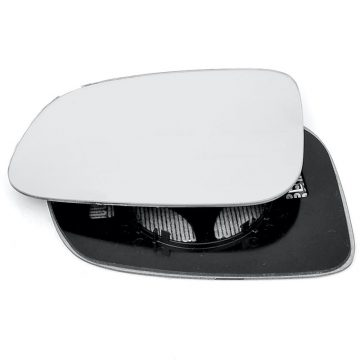 Left side wing door mirror glass for Jaguar XF, Volvo C30, Volvo C70, Volvo S40, Volvo S60, Volvo S80, Volvo V40, Volvo V50, Volvo V70 Mk3