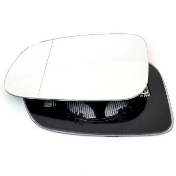 Left side wing door mirror glass for Jaguar XE, Jaguar XK