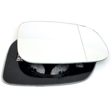 Right side wing door blind spot mirror glass for Volvo C30, Volvo C70, Volvo S40, Volvo S60, Volvo S80, Volvo V40, Volvo V50, Volvo V70 Mk3