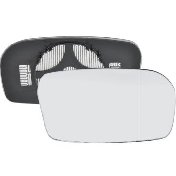 Right side wing door blind spot mirror glass for Honda Civic