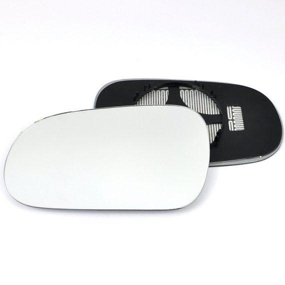 Left side wing door mirror glass for Honda Civic
