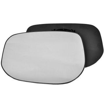 Left side wing door mirror glass for Honda Jazz
