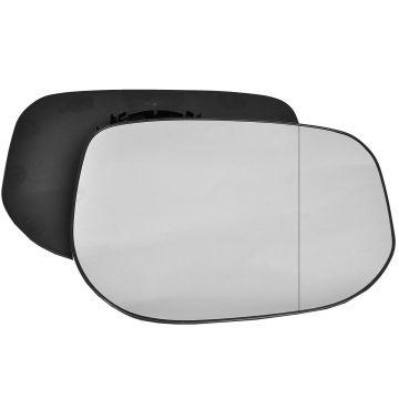 Right side wing door blind spot mirror glass for Honda Jazz