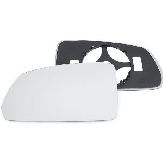 Left side wing door mirror glass for Kia Rio
