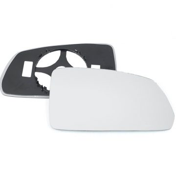 Right side wing door mirror glass for Kia Rio