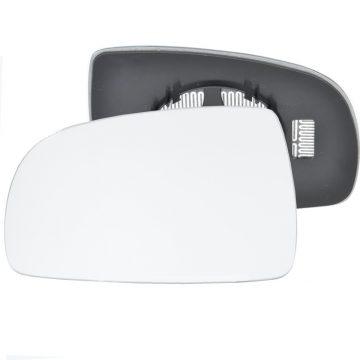 Left side wing door mirror glass for Nissan Note