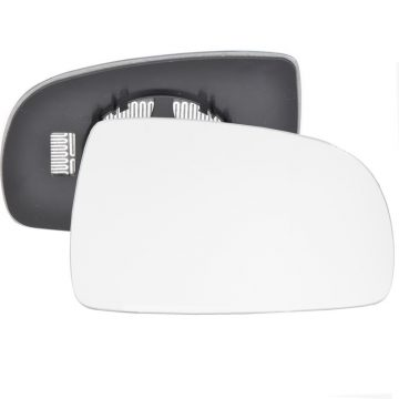 Right side wing door mirror glass for Nissan Note