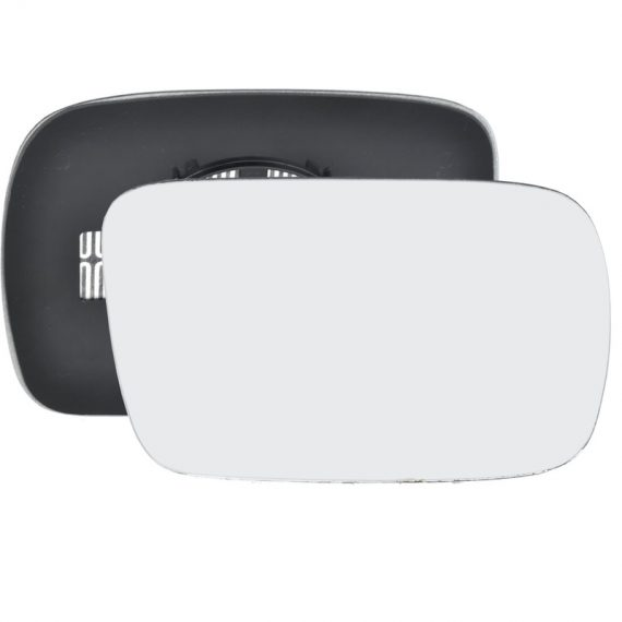 Right side wing door mirror glass for Nissan Terrano