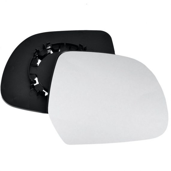 Right side wing door mirror glass for Dacia Duster, Nissan Micra