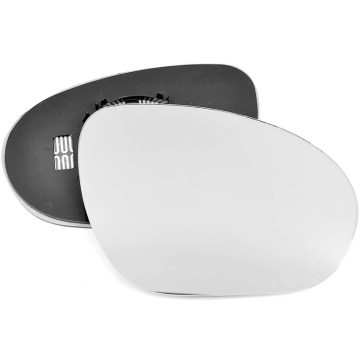Right side wing door mirror glass for Nissan Juke