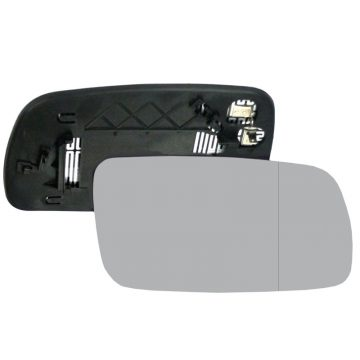 Right side wing door blind spot mirror glass for Toyota Avensis