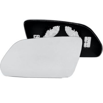 Left side wing door mirror glass for Skoda Octavia, Volkswagen Polo