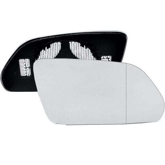 Right side wing door blind spot mirror glass for Skoda Octavia, Volkswagen Polo