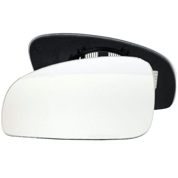 Left side wing door mirror glass for Skoda Fabia, Skoda Roomster
