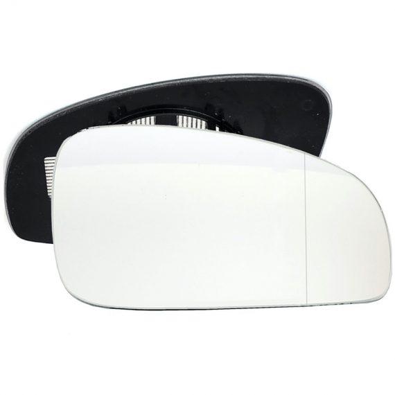 Right side wing door blind spot mirror glass for Skoda Fabia, Skoda Roomster