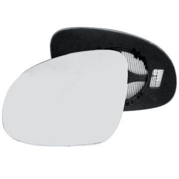 Left side wing door mirror glass for Seat Alhambra, Skoda Yeti, Volkswagen Sharan, Volkswagen Tiguan