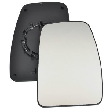 Right side wing door blind spot mirror glass for Nissan Interstar, Renault Master, Vauxhall Movano