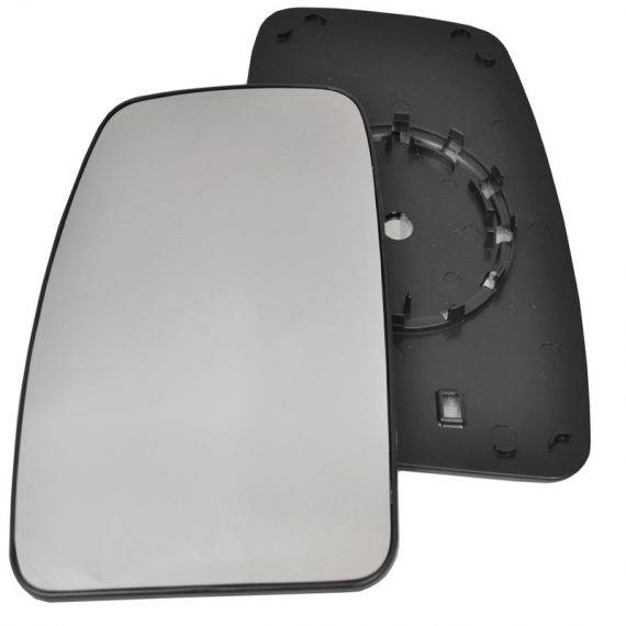 Left side wing door mirror glass for Nissan NV400, Renault Master, Vauxhall Movano