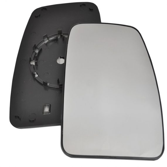 Right side wing door mirror glass for Nissan NV400, Renault Master, Vauxhall Movano