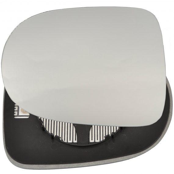Left side wing door mirror glass for Renault Kangoo