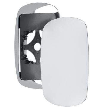 Right side wing door mirror glass for Fiat Doblo